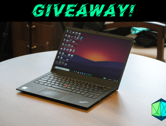 We're giving away a Lenovo ThinkPad X1 Carbon Gen 8! [EXPIRED]