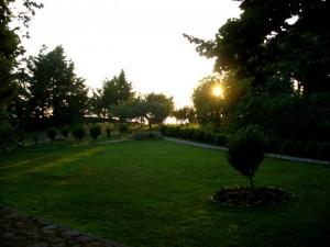Il giardino di Palazzo Cembalo