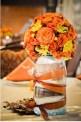 Centrotavola matrimonio halloween in villa fiorita treviso