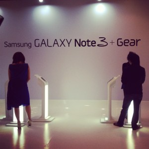 Display stage Samsung Galaxy Note 3