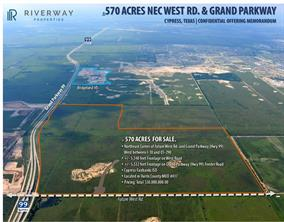 Property for sale at 0 W Grand Off Parkway, Katy,  Texas 77493
