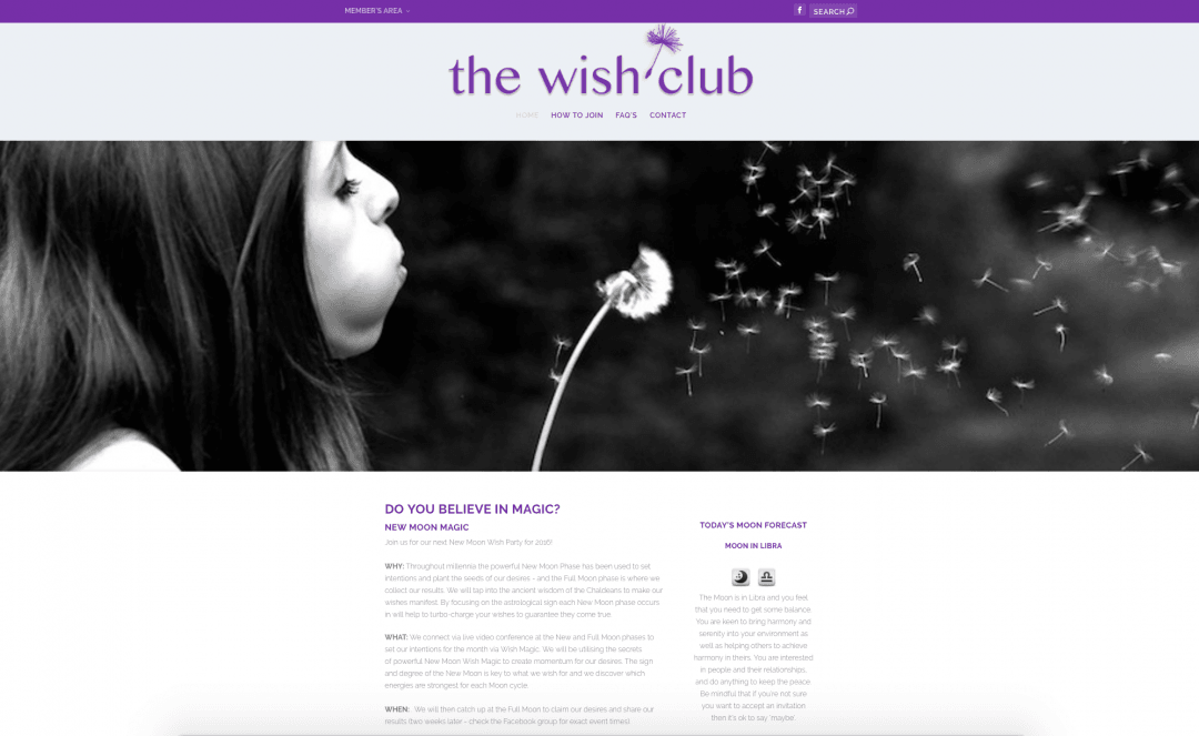The Wish Club Members