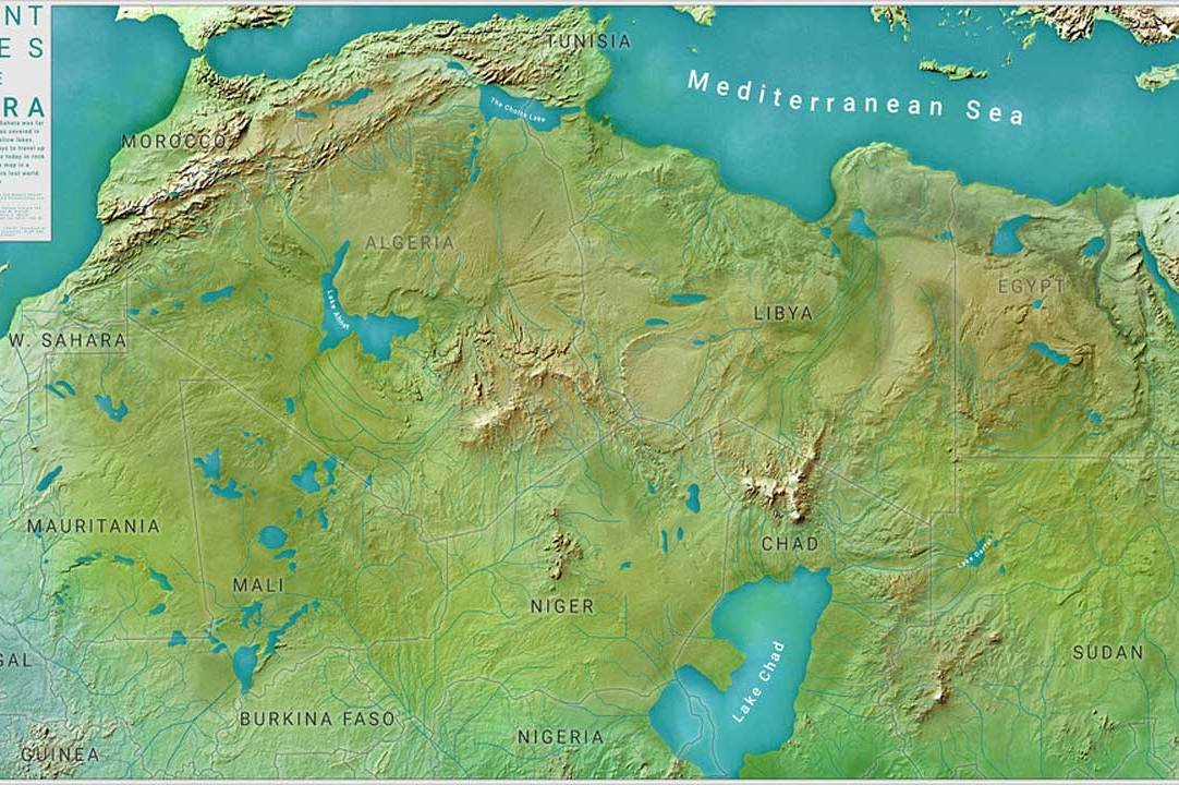 Sahara Desert - Could you believe ?! The Sahara was once green