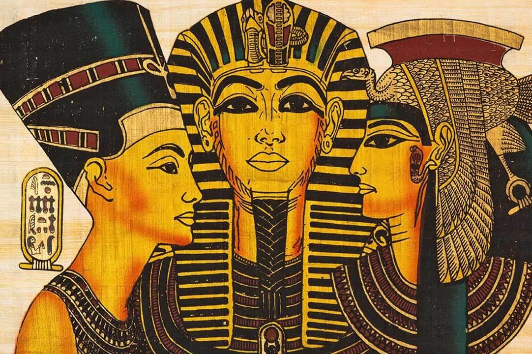 Alien Ruler - Kings Of Ancient Egypt - Tulli Papyrus - Dendera Lamps
