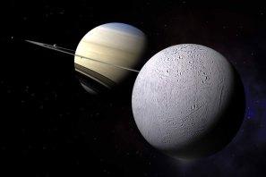 Saturn Moon, Enceladus