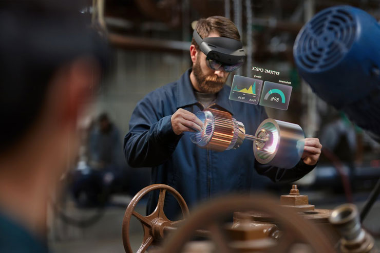 Microsoft HoloLens Mixed Reality Device