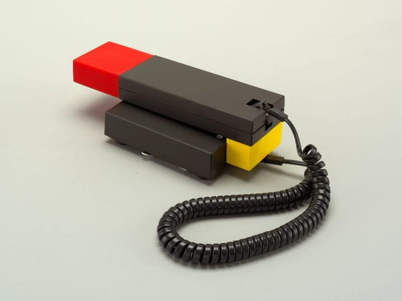 The Enorme Telephone, designed by Marco Zanini and Ettore Sottsass, Jr.