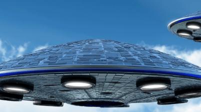 Spaceship Leaving