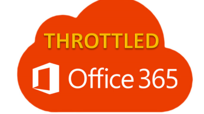 Office 365 Throttled