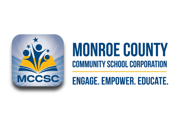 Monroe County Community school corporation logo (MCCSC)