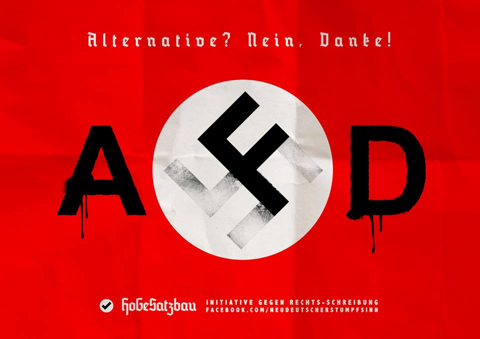 AfD – Alternativa palom diktatoru