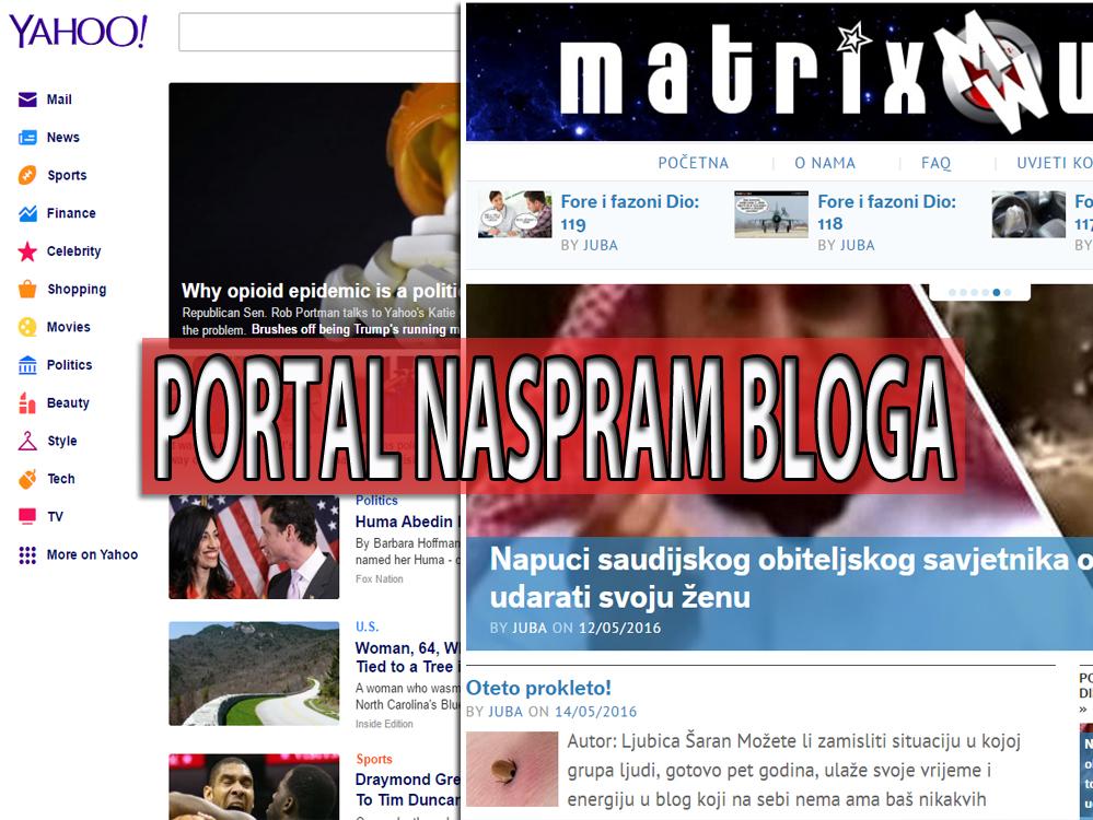 Kad portal nije portal i kad blog postaje više od medija?