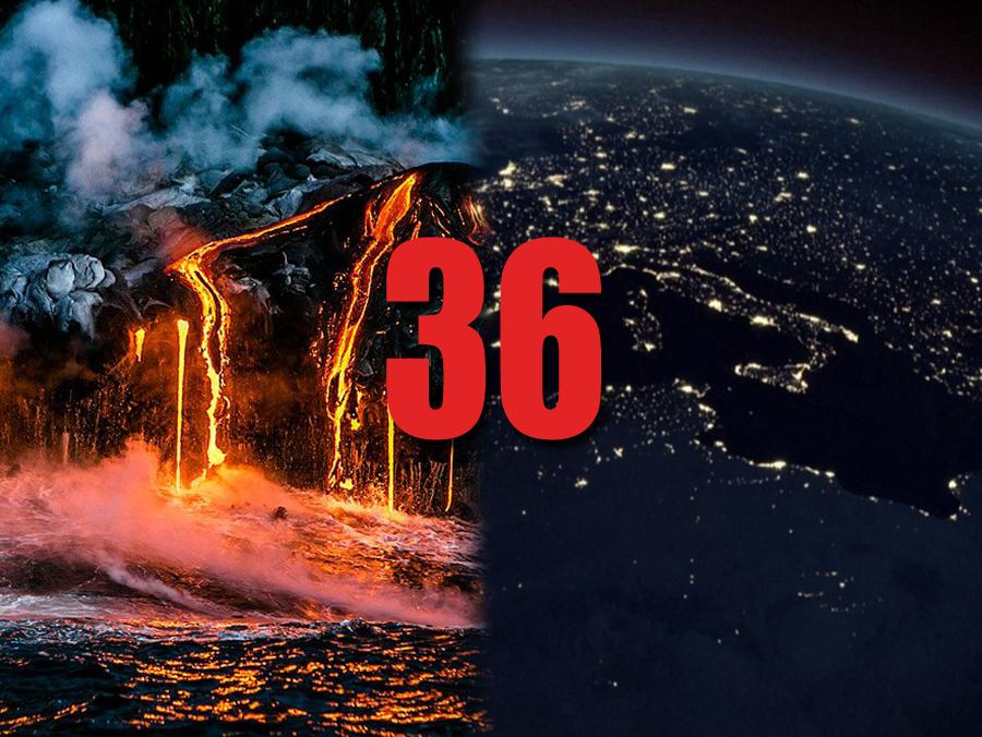 UDARNA VIJEST: Trenutačno eruptira 36 vulkana na planeti!