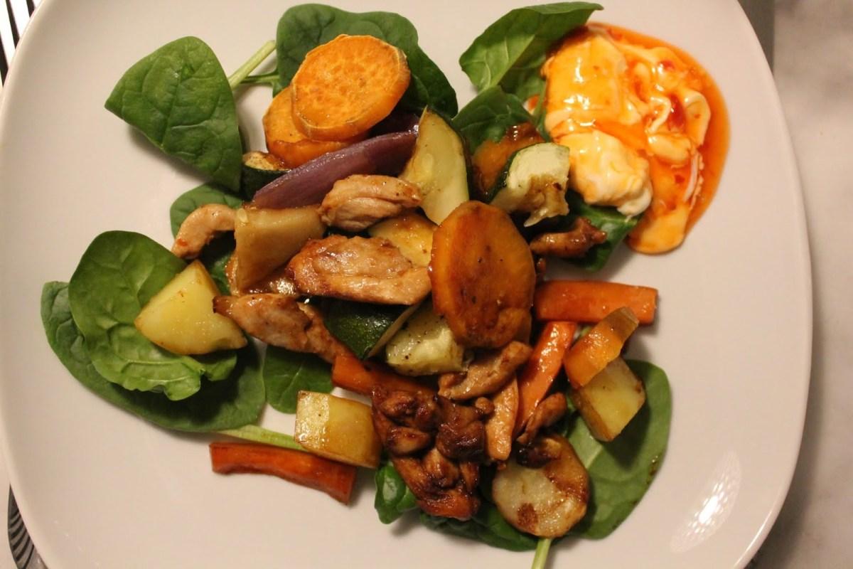 Kyckling och grönsaker – Allt i ett i ugnen