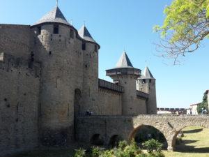 citadel carcassonne entrance