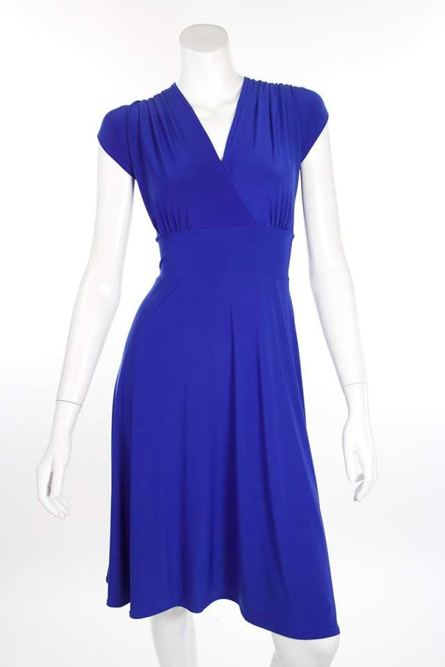 Royal Blue Short Veronica Lake