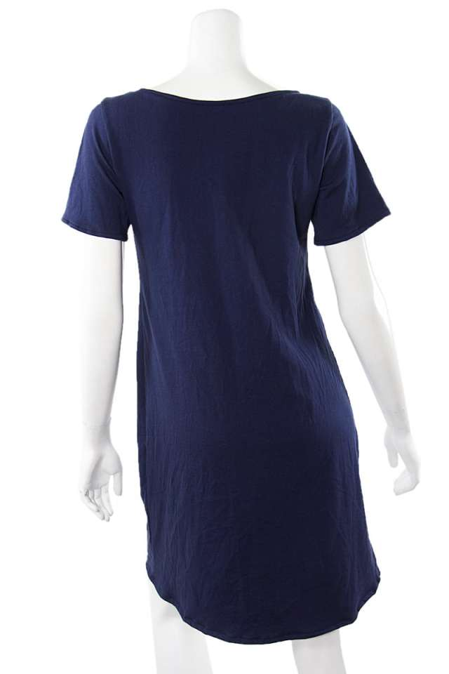 Navy Fern Tshirt Tunic