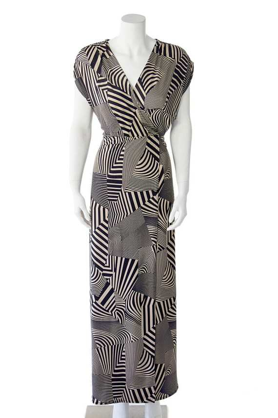 Hypnotize Faux-Wrap Dress