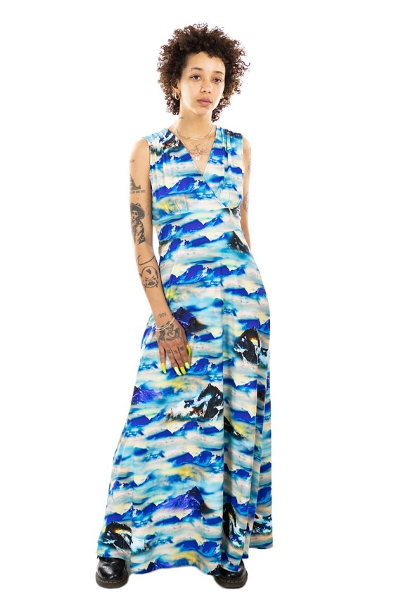 Mountains In the Clouds Cleopatra Maxi Dress