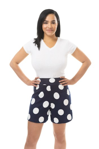 Blue Dot Cleo Shorts $46