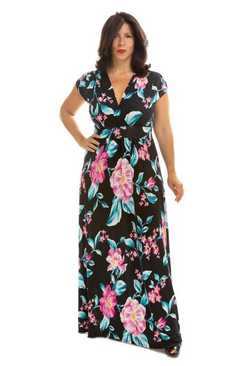 North Shore Nights Veronica Lake Maxi