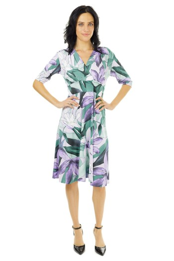 Lavender Lily Veronica Lake with Sleeves