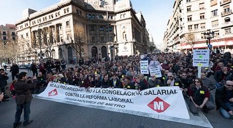 Municipalismo del cambio, huelgas y conflicto
