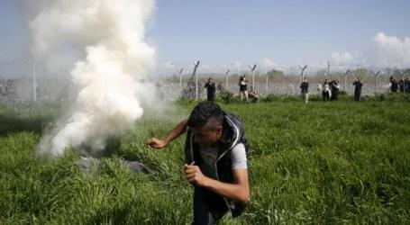La Policía macedonia 'secuestra', tortura y usa gases lacrimógenos contra los refugiados sirios