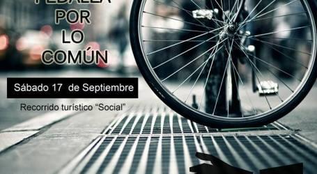PEDALEA CONTRA LOS DESALOJOS, Sábado17 de Septiembre- 12:00horas- Plza España.