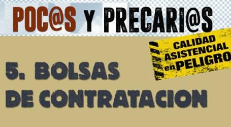 POC@S Y PRECARI@S.   V.  BOLSAS DE CONTRATACIÓN