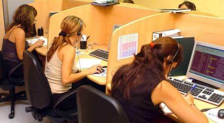 PRECARIEDAD. El sector del telemarketing denuncia en Europa la vulneración de derechos laborales en España