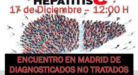 Hepatitis C, ENCUENTRO EN MADRID DE DIAGNOSTICADOS NO TRATADOS 17/Dic 12:00