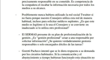 Comunicado de la Plataforma de CS ante el cese de la responsable de enfermería del CS San Blas de Parla