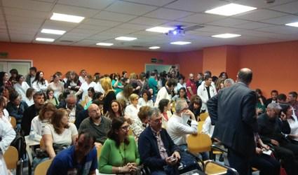 La lucha por la sanidad pública continúa en Móstoles con fuerza