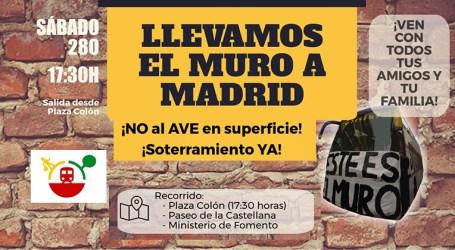 ¡Soterramiento YA! Manifestación en Madrid. Sábado 28 de Octubre