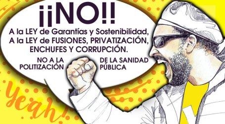 NO a la Ley de Garantías y Sostenibilidad. NO a la Politización de la Sanidad Pública