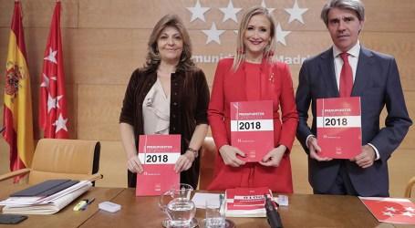 Valoración de los presupuestos de 2018, en materia de Sanidad, de la Comunidad de Madrid