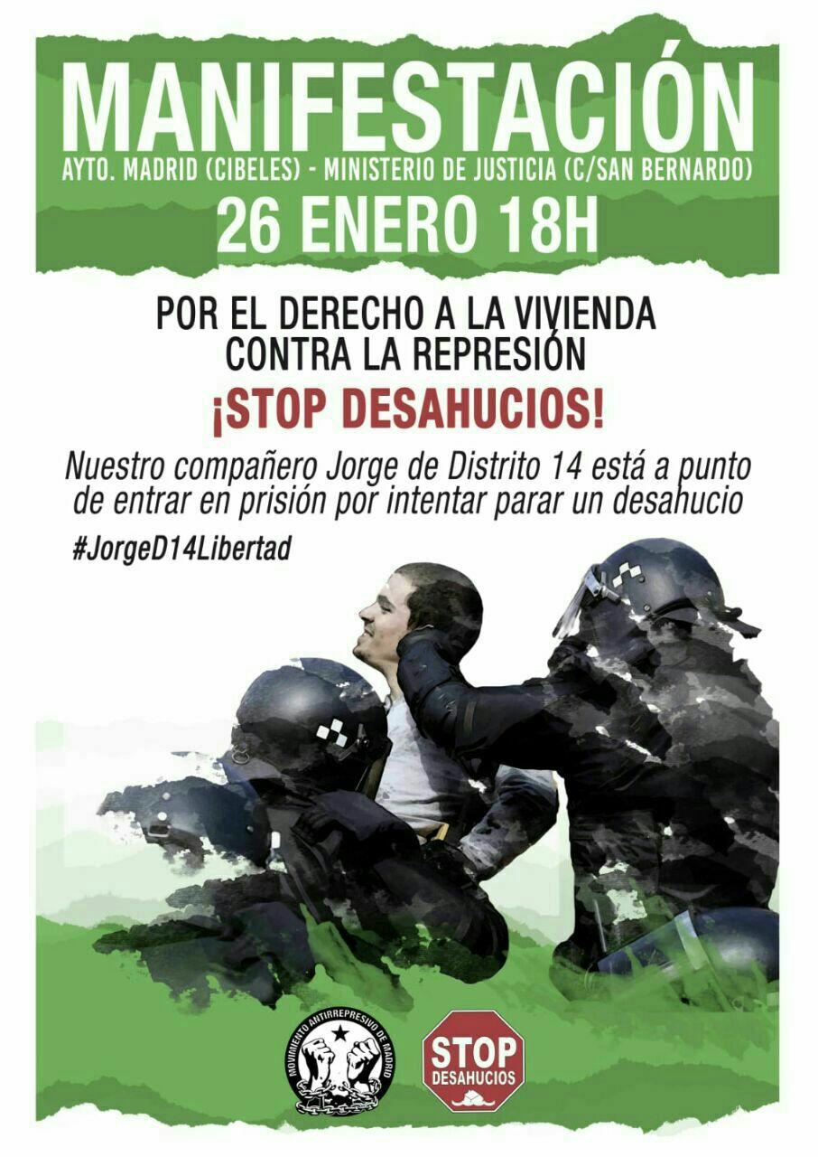 Por la vivienda, contra la represión