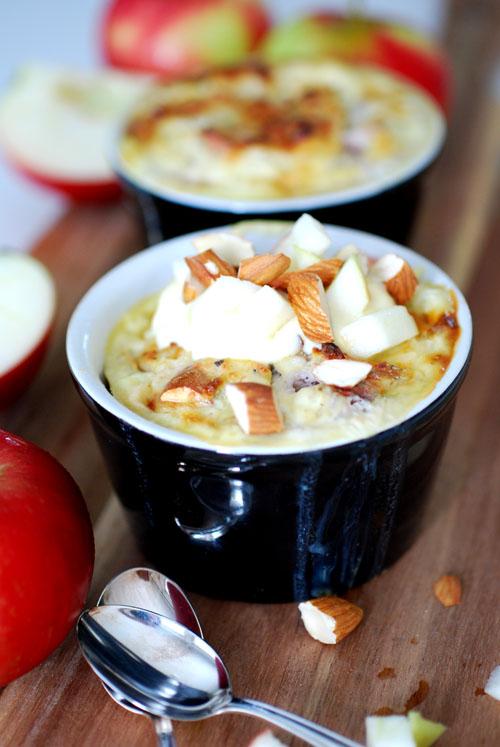 kesokaka med äpple och kardemumma
