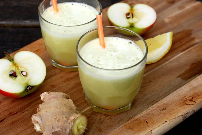 Citron och ingefärsshot