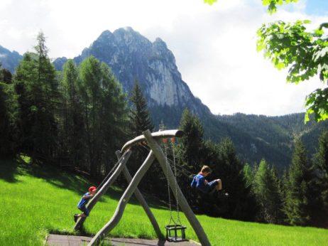 Panorama-Schaukeln
