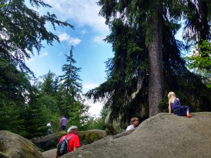 Klettern und Kraxln im Felsenlabyrinth