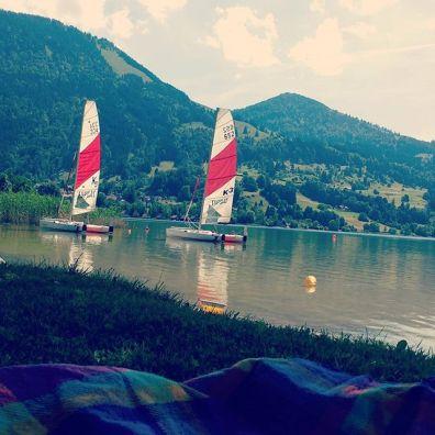 Seen und Berge sorgen für eine abwechslungsreiche Freizeit im Allgäu - matschbar