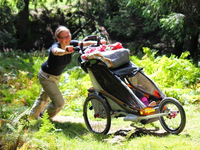 Fitness mit Baby Pulsuhr Garmin Forerunner GPS