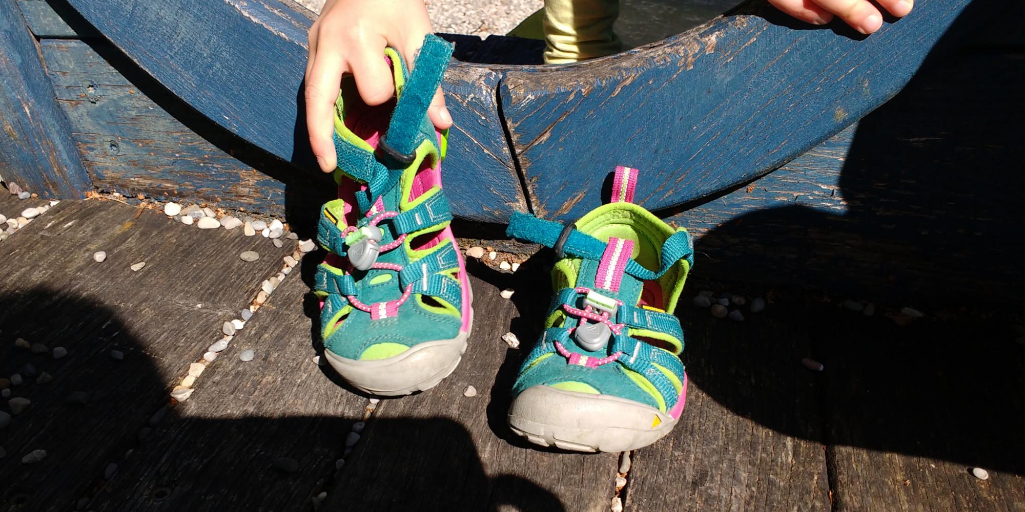 pretty nice 91d4c d3384 Keen Seacamp 2 CNX wasserabweisende Outdoor-Sandale für Kinder