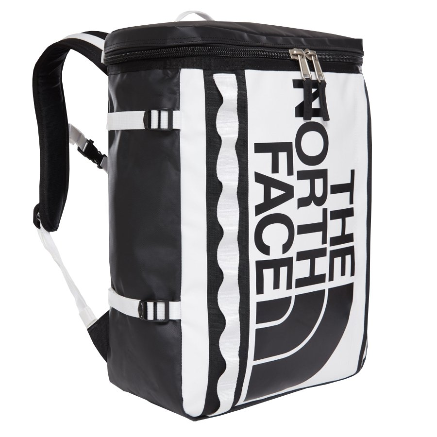 medium resolution of the north face backpack base camp fuse box tnf white tnf blackclick to zoom