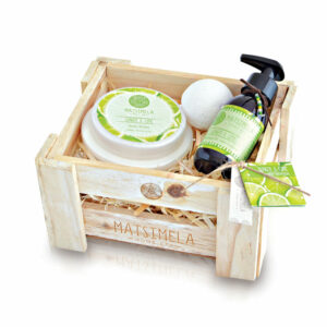 Ginger & Lime Products In A Crate | Matsimela Home Spa 2