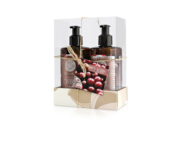 Red berry gift set - Matsimela Home Spa