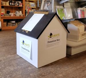 MATS Donation Dropoff Box