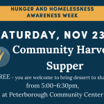 Community Harvest Supper